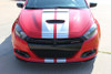 front view Dodge Dart Rally GT Stripes DART RALLY GT 2013 2014 2015 2016