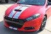 front angle Dodge Dart Rally GT Stripes DART RALLY GT 2013 2014 2015 2016