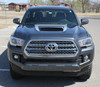 front view NEW! Toyota Tacoma TRD Hood Scoop Stripes SPORT HOOD 2016-2020