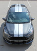 front high view of Ford Focus ST Stripes TARGET FOCUS RALLY 2015 2016 2017 2018
