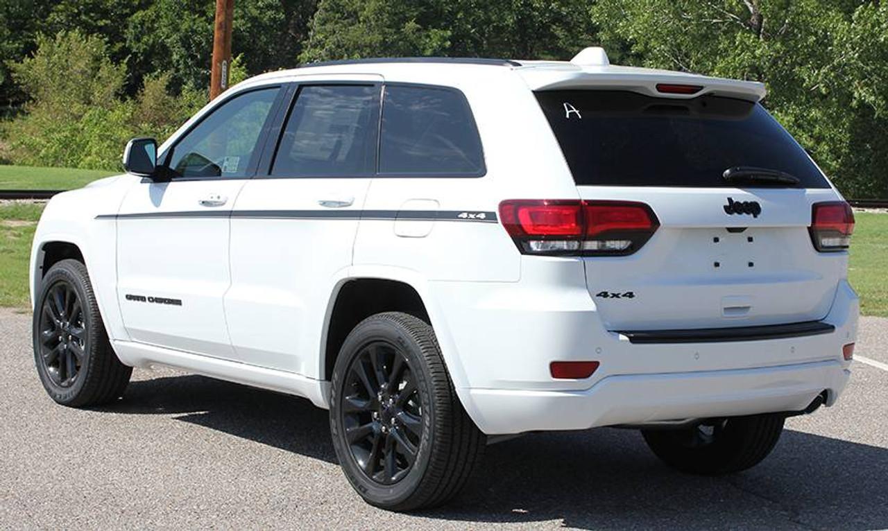 White Grand Cherokee >> Jeep Grand Cherokee Side Stripes Pathway 2011 2020 3m Standard Wet Install