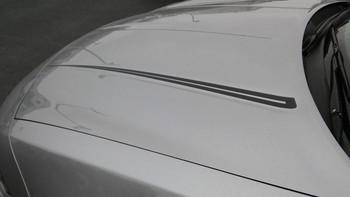 hood of 2015 Dodge Charger Vinyl Graphics RIVE KIT 2015-2021