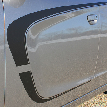 close up 2018 Dodge Charger Side C Stripes C-STRIPE 15 2015-2020