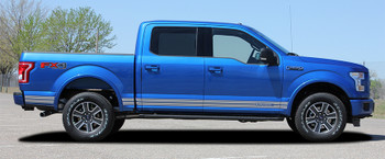 side of 2018 Ford F150 Decals 15 150 ROCKER 2 2015-2019 2020 2021