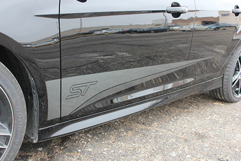 side of BEST! Ford Focus Graphics Kit BLADE 2015 2016 2017 2018