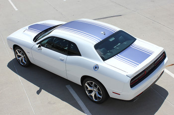 rear top Dodge Challenger Shaker Style Stripes SHAKER 2015-2021