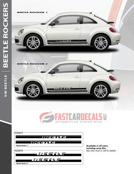 flyer for VW Beetle Side Door Stripes ROCKER 2 2012-2016 2017 2018 2019