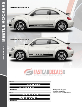 flyer for VW Beetle Side Door Stripes ROCKER 2 2012-2016 2017 2018 2019