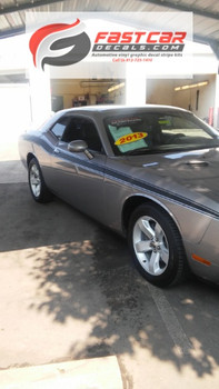 side view of 2016 Dodge Challenger Side Graphics CLASSIC TRACK 2008-2021