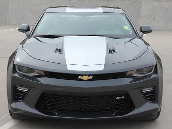 front 2017 Camaro Center Stripes OVERDRIVE 2016 2017 2018 | FCD