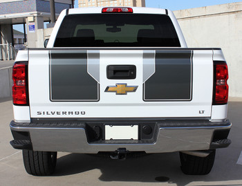rear of 2014 Silverado Rally Stripes 1500 PLUS RALLY PACKAGE 2014 2015