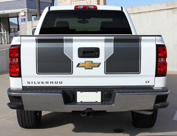 rear of 2014 Silverado Rally Stripes 1500 PLUS RALLY PACKAGE 2014 2015