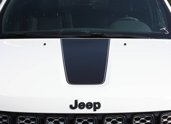 close front of Limited Jeep Grand Cherokee Stripes PATHWAY HOOD 2011-2020