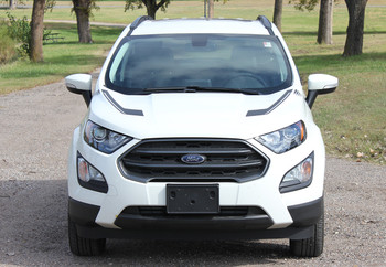 front of Ford EcoSport Vinyl Graphics FLYOVER KIT 2018-2020