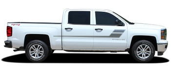 profile Chevy Silverado Truck Bed Decals SPEED XL 2013-2016 2017 2018