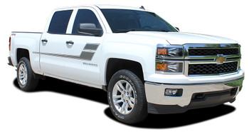 passenger Chevy Silverado Truck Bed Decals SPEED XL 2013-2016 2017 2018