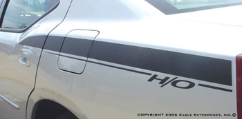 close up 2006 Dodge Charger RT Decals CHARGIN 2006 2007 2008 2009 2010