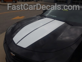 front of 2019 Chevy Camaro Graphics Package REV SPORT 2019-2020
