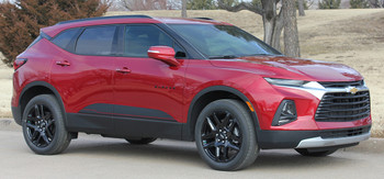 front angle of BLAZE ROCKER | 2019-2020 Chevy Blazer Stripes