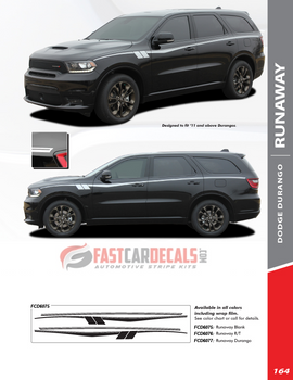 flyer for 2020 Dodge Durango Side Stripes
