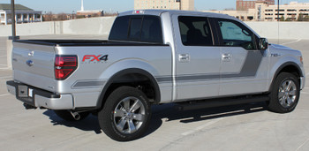 profile BEST! Ford F150 Truck Side Vinyl Graphics 15 FORCE 2 2009-2020