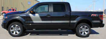 profile of black 2018 Ford F 150 Graphics Package 15 FORCE 2 2009-2021