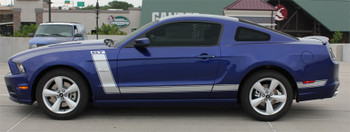 profile of 2014-2013 Ford Mustang Side and Hood Stripes PRIME 2
