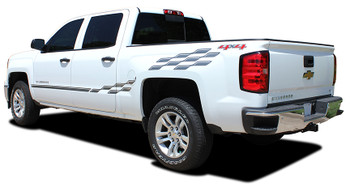 rear Chevy Truck Stripe Kits CHAMP 2013 2014 2015 2016 2017 2018