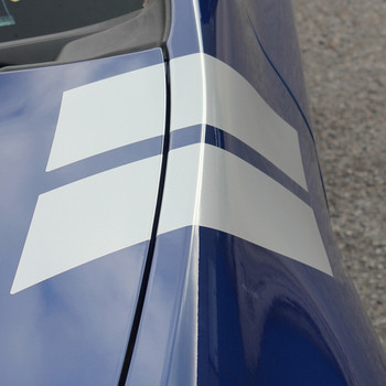 close up Dodge Dart Fender Stripes DOUBLE BAR 2013 2014 2015 2016