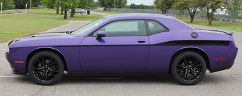 profile of 2018 Dodge Challenger Body Decals ROADLINE 2008-2020
