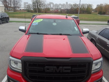 front of red GMC Sierra Rally Package SIERRA RALLY 2014 2015 2016 2017 2018