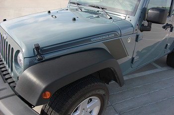 close up Jeep Wrangler Body Graphics RUNDOWN 2008-2017 2018