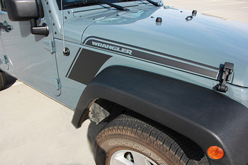 Jeep Wrangler Body Graphics RUNDOWN 2008-2017 2018