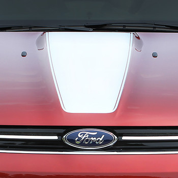close up Ford Escape Hood Stripes CAPTURE HOOD 2013-2016