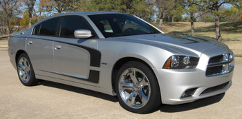 passenger side 2011 Dodge Charger Vinyl Graphics C STRIPES 2011 2012 2013 2014
