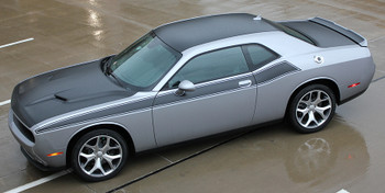 side view NEW! R/T 392 Dodge Challenger TA Stripes PURSUIT 2011-2020