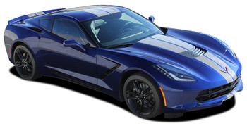 profile for Chevy Corvette Racing Stripes 2014-2016 2017 2018 2019