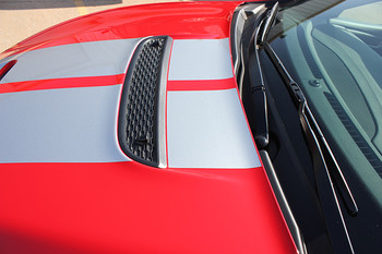 hood close upDodge Dart Rally GT Stripes DART RALLY GT 2013 2014 2015 2016
