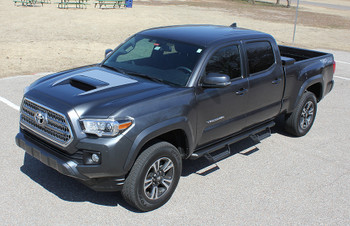 front NEW! Toyota Tacoma TRD Hood Scoop Stripes SPORT HOOD 2016-2020