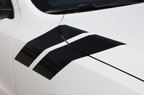 up close fender 2019 Dodge Durango Fender Stripes DOUBLE BAR 2011-2020 2021