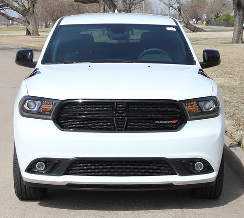front view of 2019 Dodge Durango Fender Stripes DOUBLE BAR 2011-2020 2021
