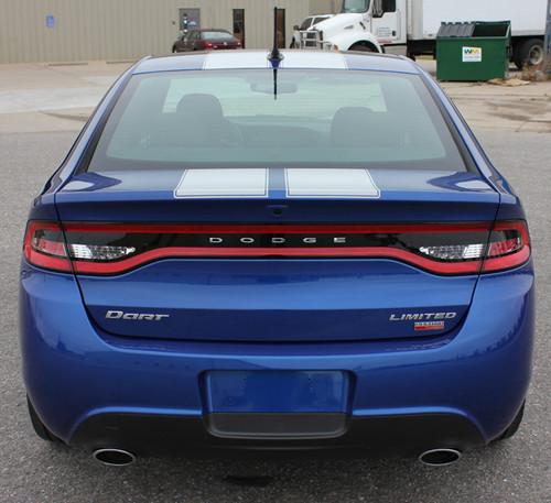 rear of 2014 Dodge Dart Decals SPRINT RALLY 2013 2014 2015 2016