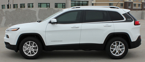 profile of 2018 Jeep Cherokee Graphics WARRIOR 2014-2021