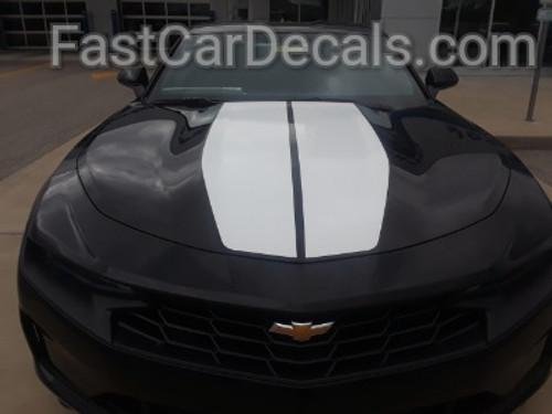 front of 2019 Chevy Camaro Center Stripes REV SPORT 2019-2020