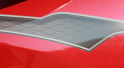 up close of digital  2020-2021 Hyundai Kona Side Decals BOLT KIT Premium Products!