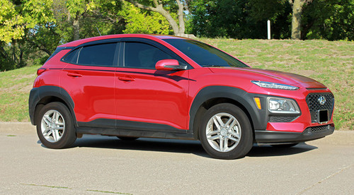 side of red NEW! 2020-2021 Hyundai Kona Side Decals BOLT KIT Premium Products!