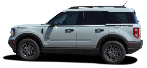 profile of NEW 2021 Ford Bronco Stripes RIDER SIDE 2021 and up All Models