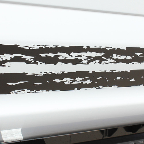 close up of 2017 Ford F150 Decals 150 BREAKUP ROCKER 2015-2020