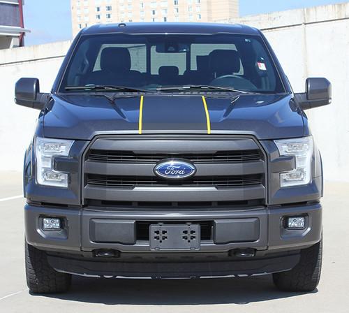 front 2017 Ford F150 Center Stripes BORDERLINE 2015-2019 2020