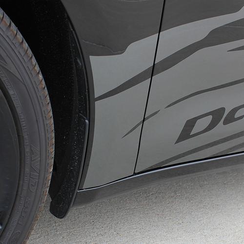 close up door 2016 Dodge Dart Graphics RIPPED DART 2013 2014 2015 2016